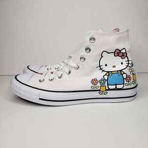 Converse Chuck Taylor All Star Hello Kitty Flowers